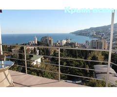 2 комнатная квартира с панорамной террасой на море