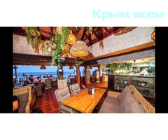 """Бар """"Зеленый"""" пляж гостиницы Ялта Интурист"""