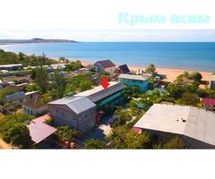 Керчь аренда жилья Курортное база отдыха возле моря