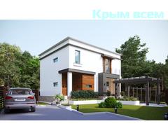 Новый современный дом в стиле Хай–Тек